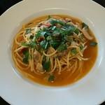 リングロード - アサリと大葉のピリ辛和風スパゲティ