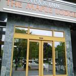 レストラン BIG LOG - ホテル入口。