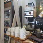オンザピッグスバック  - 2種類のコーヒーマシン(セルフ)