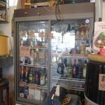 オンザピッグスバック  - 冷たいドリンクの入った冷蔵ケース(セルフ)