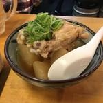 もつ鍋 チャンピオン - お通しの煮物