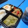 スイタイ - 料理写真:グリーンカレー&ガパオ(500円)とシンハービール(500円)