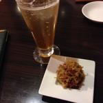 Choushuu - 梅酒ソーダ割りと、特製海鮮XO醤