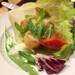 Choushuu - 海老と九条ネギのガーリック炒め