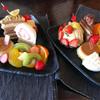 白栄堂 - 料理写真:ケーキセット2つ、自分で選ぶことはできませんが、それぞれ違います
