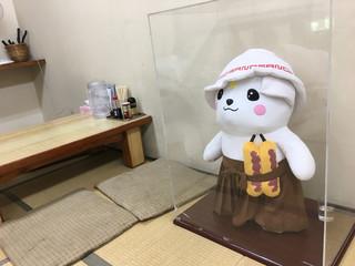 田村屋 - さのまる君の鎮座するお座敷で^_^