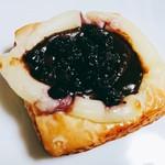 ぽれぽれベーカリー - ブルーベリーデニッシュ。サクサクで美味しい
