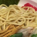 麺屋 蕃茄 - 麺(全粒粉)のアップ