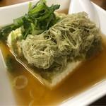 魚介 - 湯豆腐