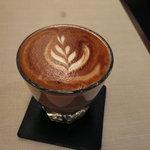 Espresso Bar vis viva - コルタド(ホットです)