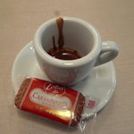 Espresso Bar vis viva - エスプレッソとロータスビスケット