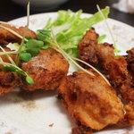 中華料理鉄人の店 天天 - 鶏の唐揚げ