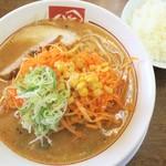 ra-membandai - ねぎ味噌ラーメン+ライス