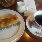 ラ・メール - 料理写真:マンデリン&りんごケーキ