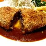 68013715 - 牛肉のメンチカツ定食【Jun.2017】