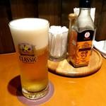 マーシュ亭 - グラスビール《サッポロクラシック》【Jun.2017】