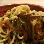 らーめん 鎹 kasugai - まぜそば麺リフト