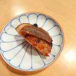 蘭奢待 - (2017年5月 訪問)もも肉、柚子ゆべし添え。美味しい。