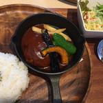 フライパン - ハンバーグランチ920円