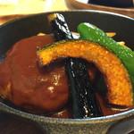 フライパン - ハンバーグランチ920円…ハンバーグおいしかったです♡