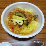 ヌンクイ - 鯖のカレーと夏野菜のアチャール 600円