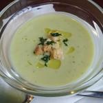 68017890 - そら豆の冷製スープ