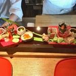 季旬 鈴なり - ③主菜の八寸×2