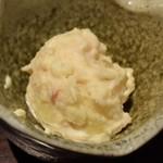 飯家 おかん - 付き出しのポテトサラダ
