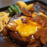 MEAT DINING River:Ve - こだわり鉄板ハンバーグランチ