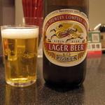 ラーメンZikon - 2017年6月 瓶ビール