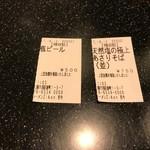 麺道 而今 総本家 - 2017年6月 半券