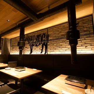 落ち着いた空間で、美味しいお肉を食べていただきたい!!!