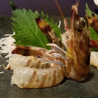 【活車海老料理】しゃぶしゃぶ・踊り食いが人気!食感が違います