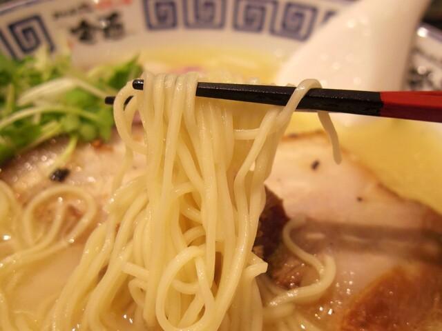 ラーメンZikon 四ツ橋店 - 2017年6月 麺持ち上げ