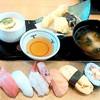 海座 - 料理写真:選べるすし定食 厳選ネタ6貫盛(890円)