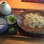 千寿竹やぶ - 粗挽き半もり(650円)