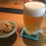 千寿竹やぶ - 生ビール(750円)