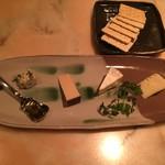 りんどう - チーズ盛り合わせ