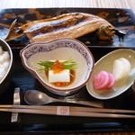 銀座 しぶ谷 - 魚定食