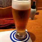 希味 - 生ビール