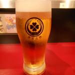東京MEAT酒場 - 生ビール(泡あり)