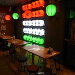 東京MEAT酒場 - 店内(窓際)