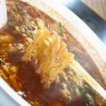 辛麺屋 桝元 - 名物のこんにゃく麺