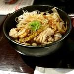 炭火焼肉 黒べこ屋 - ホルモン丼ランチ780円税込