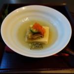 新日本料理 神也 - 料理写真:2017.06 玉子豆腐のゼリー寄席
