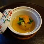 新日本料理 神也 - 2017.06 じゃがいもまんじゅう