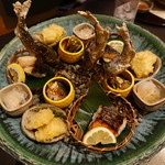 新日本料理 神也 - 2017.06 焼き物の盛り込み