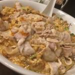 俵飯 - 四万十ニンニクの豚バラうま玉子焼き飯