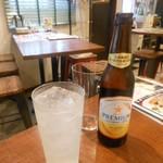 バル トレス - ノンアルコールビールと柚子スカッシュ 2017.6