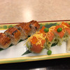 日本料理こぶし - 料理写真:サーモンと鰻の棒鮨と鴨セイロそば 2160円。